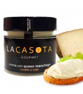 Crema de Queso Manchego curado y viejo 200g La Casota
